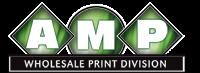Amp wholesale print division Logo